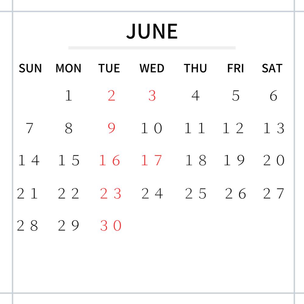 テーラー・ブレイズ カレンダー